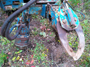 Auger/Pole Setting Truck Prince George British Columbia image 3