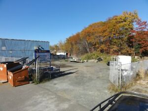 Secure Fenced  Storage Compound in Burnside
