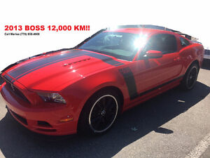 2013 Ford Mustang BOSS - 12,000 KM!!