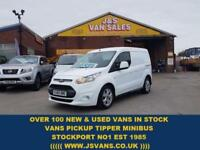 2015 65 FORD TRANSIT CONNECT 1.6 200 LIMITED SWB 2015/65 IN PURE WHITE SUPER LOO