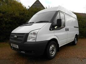 2012 12 FORD TRANSIT 2.2TDCI T300 SWB MID ROOF AIRCON 1 OWNER VERY CLEAN VAN