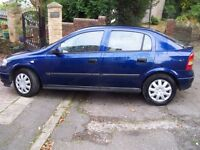 2003 Vauxhall ASTRA 1.4 LS One Owner from new -Long Mot-reliable modern Hatchback- cheap at £495