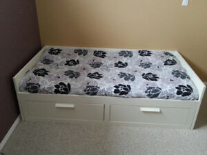 IKEA  Day Bed with storage drawers