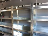 Mercedes Sprinter new shelving units  Ford Transit