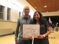 CARICATURE Artist Available for Parties and Events..