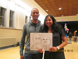 CARICATURE Artist Available for Parties and Events.. St. John's Newfoundland image 1