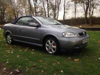 2004 04 VAUXHALL ASTRA 1.8 COUPE CONVERTIBLE 16V, Silver, Manual, Petrol,