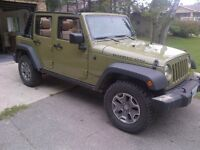 2013 JEEP RUBICON FULLY LOADED LOW KMS