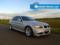 2009/09 BMW 3 SERIES 2.0 318D M SPORT 4DR AUTOMATIC SILVER + LOW MILEAGE +