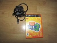 SONY PS2 GAME AND EYE TOY