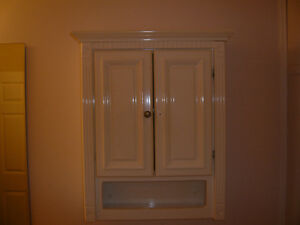 Used Above Toilet Storage Cabinet Good Condition