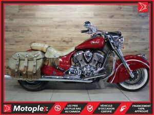 2014 Indian Motorcycles CHIEF VINTAGE 82$/SEMAINE