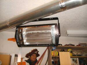 Comfort Zone Quartz Overhead Radiant Heaters - $48.00 Each