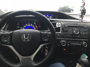 Honda civic 2013 SE second owner very clean family car 124 km