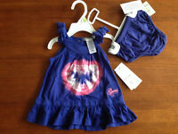 New! Guess 2 PC outfit size 3-6 mths.