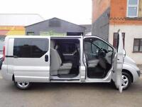 NO VAT! Vauxhall Vivaro 2.0CDTi Sportive LWB 6 seat factory fitted crew vans (1)
