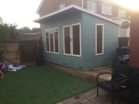 12ft x8ft summerhouse/ shed/ office/ garden building