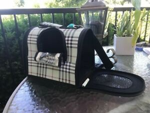 Unique dog carrier for small breeds