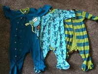 Baby boy age 9-12 month sleep suits from next