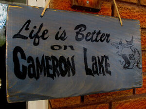 Personalized hand painted wood sign Kawartha Lakes Peterborough Area image 7