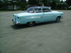 Rare 1954 Ford Club Coupe  Custom Line