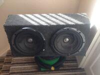 4000watt kenwood sub with amp
