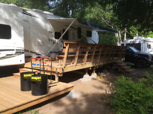 Heartland Bunkhouse Fifth Wheel at White Lake for sale