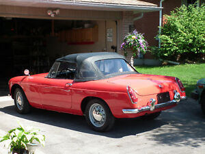 1964 MGB Metal Bumper Mint Condition