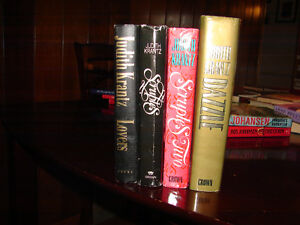 Judith Krantz 4 hardcover romance novels in English