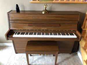 Yamaha Upright LU-101 in Walnut - EXCELLENT!