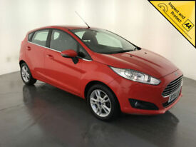 2014 64 FORD FIESTA ZETEC 5 DOOR HATCHBACK 1 OWNER SERVICE HISTORY FINANCE PX