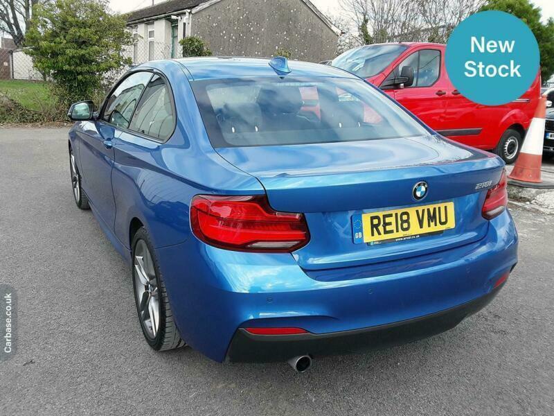 2018 BMW 2 Series 218i M Sport 2dr [Nav] Step Auto COUPE Petrol Automatic