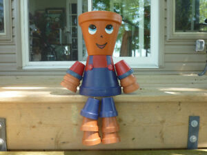 Flower Pot People $35 each