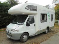 5 Berth 2002 Knaus Sun Traveller 608H Left Hand Drive Motorhome For Sale