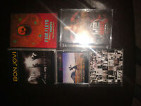 Rock CD and Concert Collection
