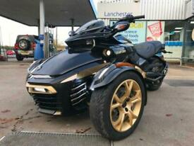 2018 Can-Am SPYDER F3s 10 Years special edition exhaust upgrade
