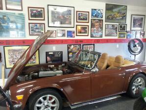 1976  Triumph TR6 - original owner