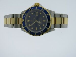 Rolex 16613 Submariner Two Tone 1989 Very good condition