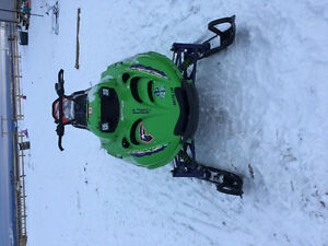 2002 arctic cat mountain cat 800 efi with parts sled