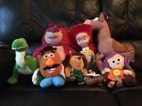 GENUINE DISNEY STORE TOY STORY SOFT PLUSH TOYS