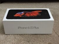 APPLE IPHONE 6S PLUS 64GB BRAND NEW BOXED APPLE WARRANTY & SHOP RECEIPT ( EE , VIRGIN , ORANGE )