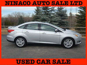 2015 Ford Focus TITANIUM  ONLY 3.500km BIG SALE $15.999 ALL IN