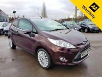2009 09 FORD FIESTA 1.4 TITANIUM 3D 96 BHP! P/X WELCOME! 2 OWNERS! 42K MILES! CR
