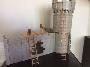 Playmobil Castle with Seige Tower and Accessories