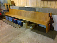 Church Bench for sale!