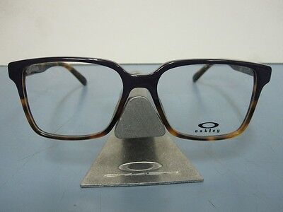 OAKLEY womens CONFESSION RX eyeglass frame Purple Tortoise OX1128-0252 NEW w/bag