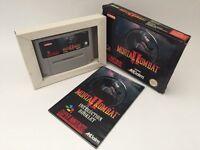 Snes Mortal Kombat 2 MK2 Super Nintendo Boxed & Manual