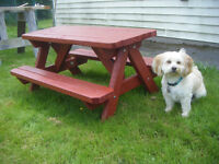 Kids Picnic Table ( Hand made and painted)