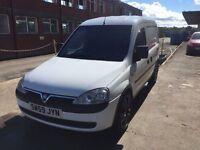 Bargain Vauxhall combo van 1700 Cdti, long MOT ready for work, no VAT