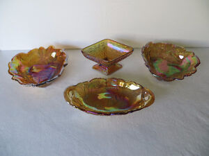 Carnival Glass....Dishes